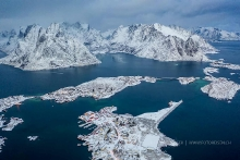 Lofoten - Reine from above