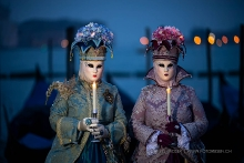 Candle girls - Caneval in Venedig 2020