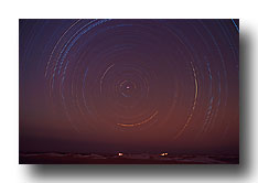 startrail1©Dionys Moser