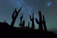 Sternenhimmel über dem Salar de Uyuni