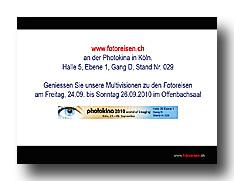 Photokina 2010 Vorführungen