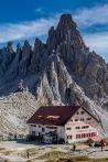 Dolomiten - Drei Zinnen Berghütte