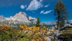 Spätsommer in den Dolomiten