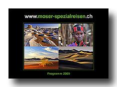 Broschüre Moser-Spezialreisen 2009