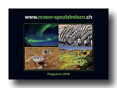 Broschüre Spezialreisen 2010