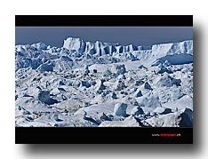 Eisberge, Eis