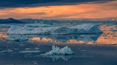 Eisberg im Scoresby Sund