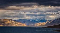 Wetterfront am Tsomoriri See