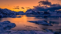 Sunset in Lofoten