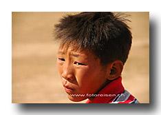 Junger Mongole