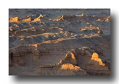 Canyon in der Wüste Gobi