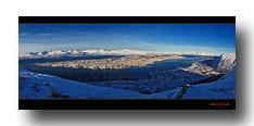 Landschaft Nord-Norwegen