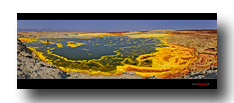 Dallol - der farbigste Platz der Welt