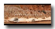 Erosionsformen - Tsingy