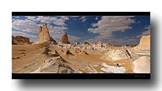 Weisse Wüste - Cerro Torre del Deserte Bianca