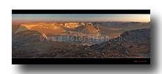Weisse Wüste Panorama Abendstimmung