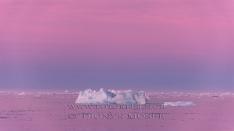 Blaue Stunde in Spitzbergen