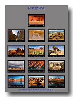 Wandkalender 2008